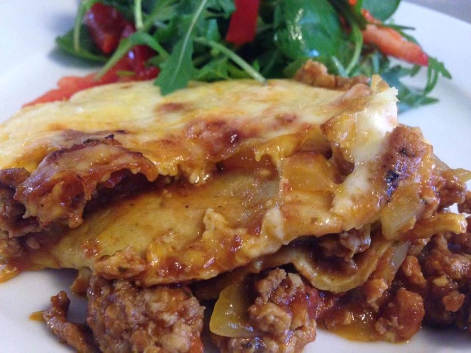 Himmelsk lasagne