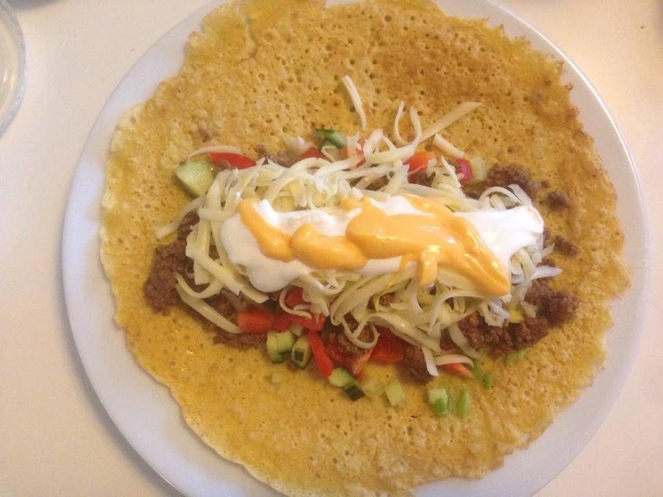 Taco – nok en genial måte å bruke kikertrøra på!