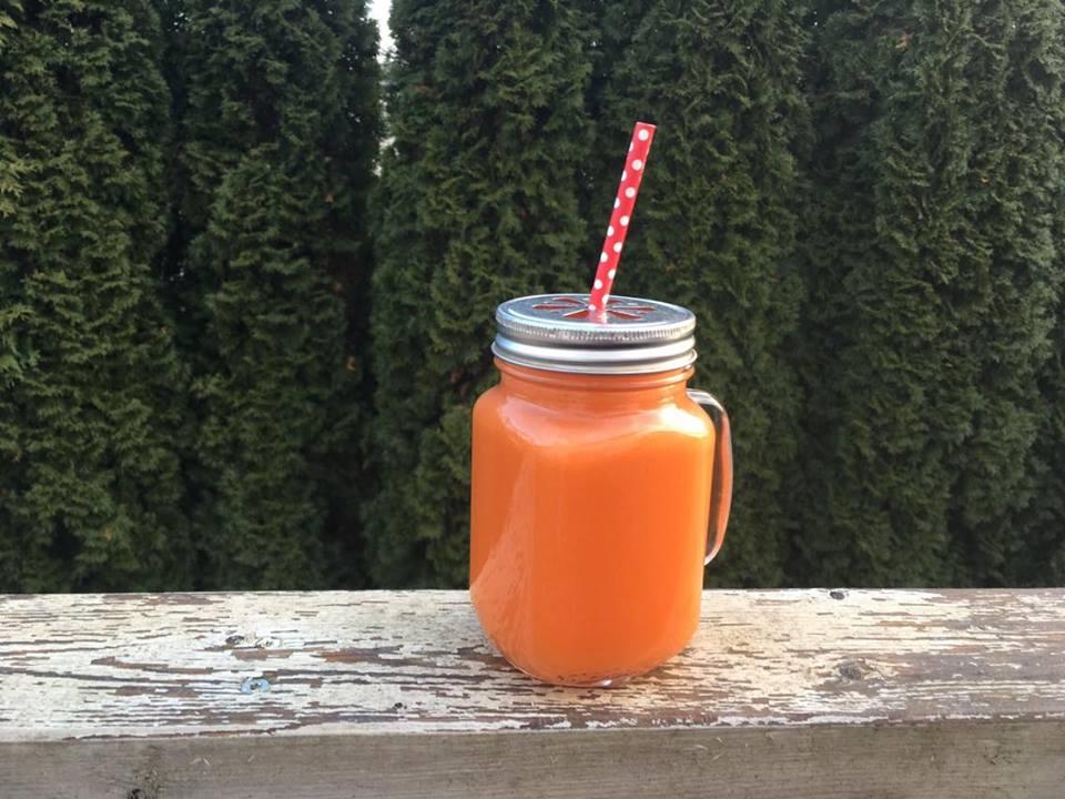 Juice m/ grapefrukt & gulrot – og grapefruktens helsefordeler