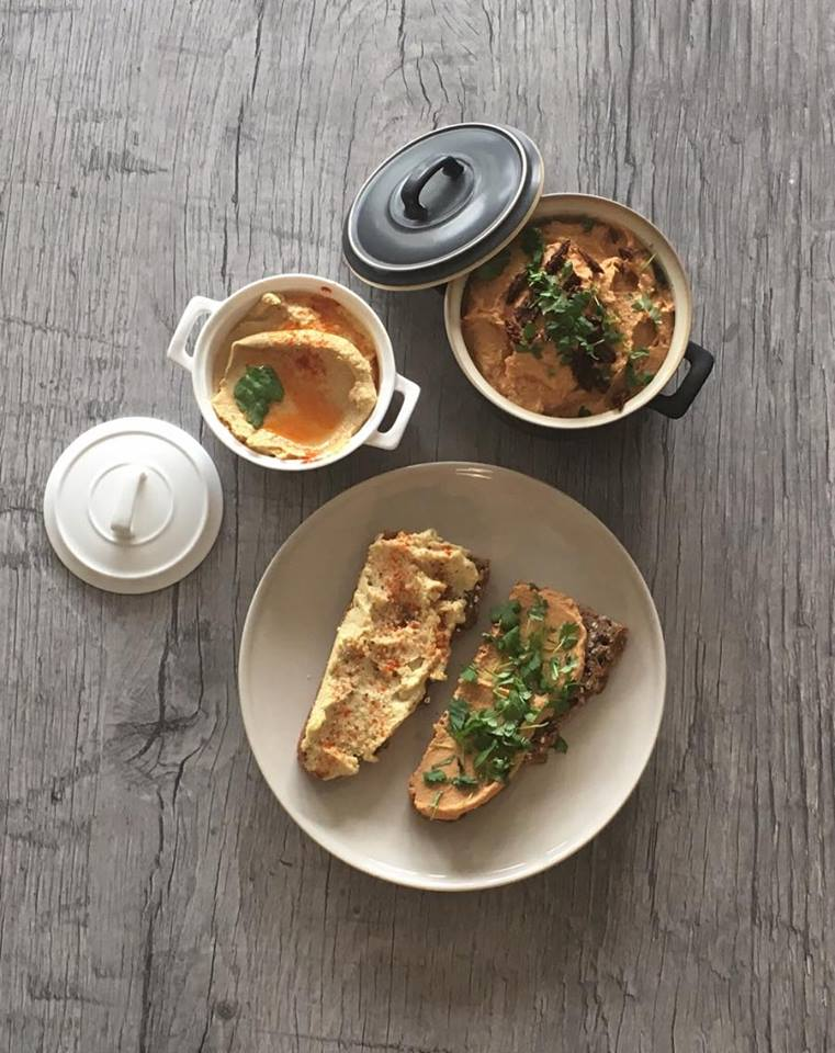 Elsker mitt nye kosthold! Hummus – two ways
