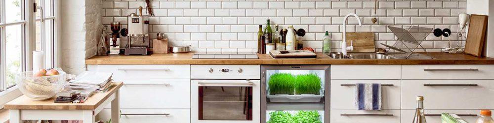 Flytt hagen inn på kjøkkenet – Mikrogrønt – Urban Cultivator