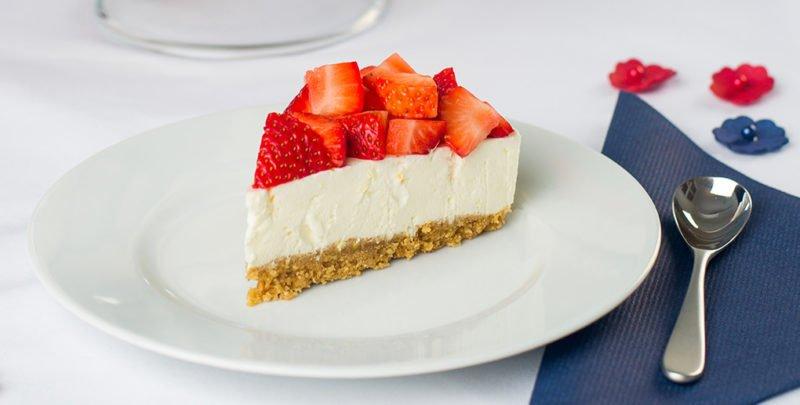 Sukkerfri ostekake m/bær