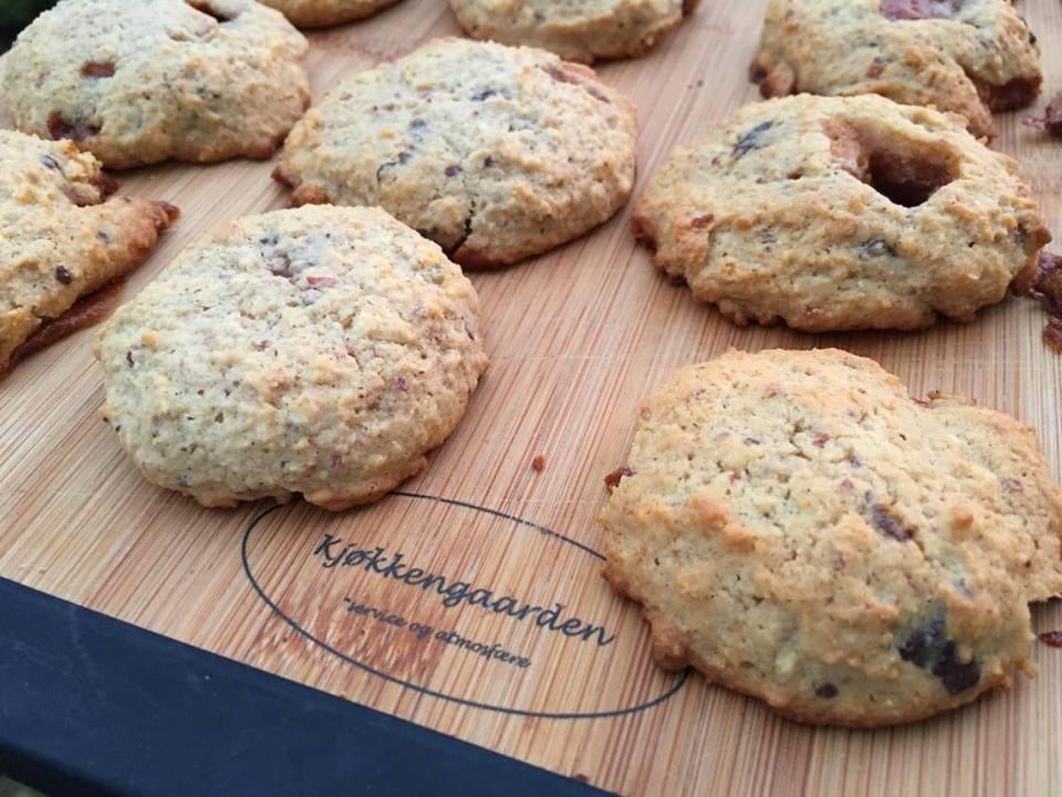 Karamell- og sjokoladecookies – Lavkarbo