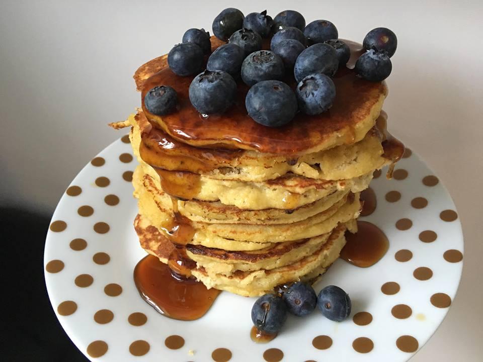 Lavkarbo | Fluffy, amerikanske pannekaker | Uten melk og gluten