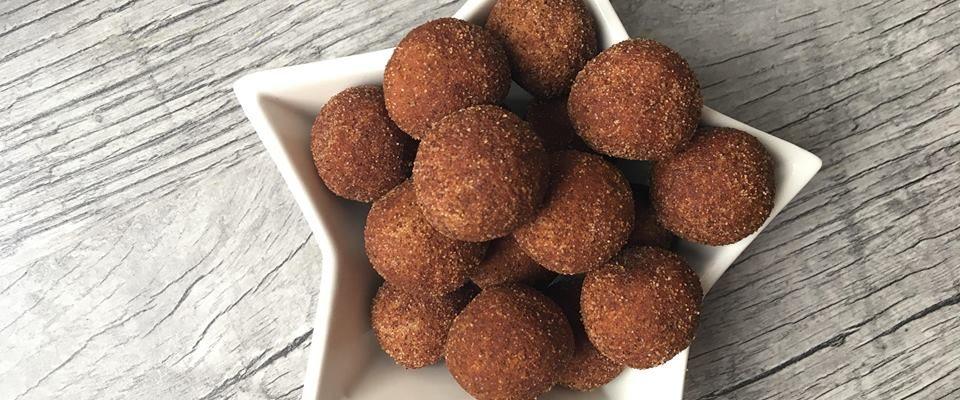 Lavkarbo | Snickerdoodle cookie dough balls