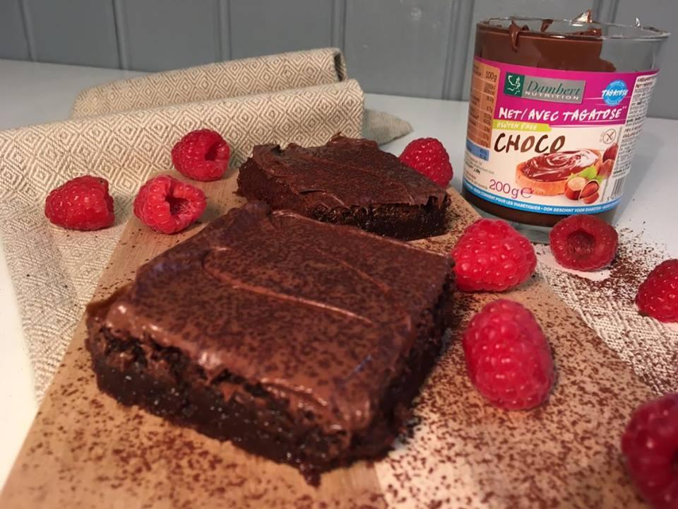 Lavkarbo Brownies. Bilde