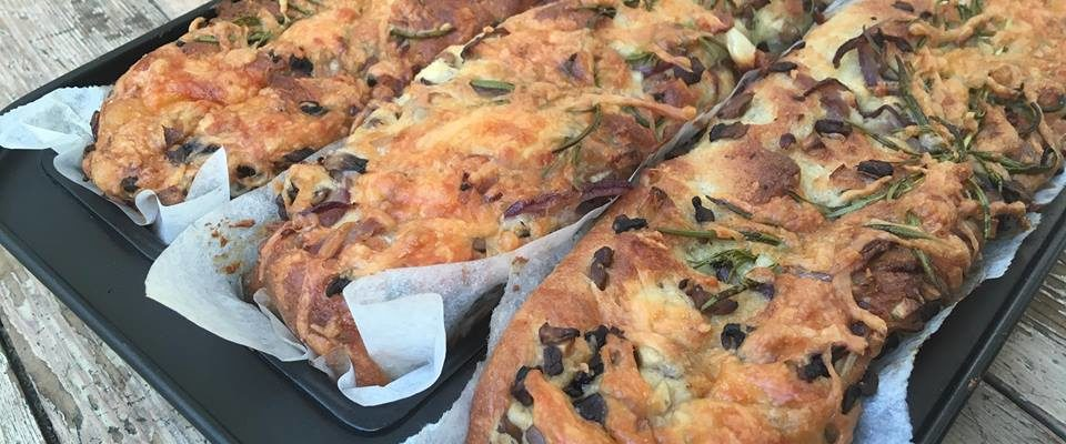 Lavkarbo | Focaccia m/smakfull topping