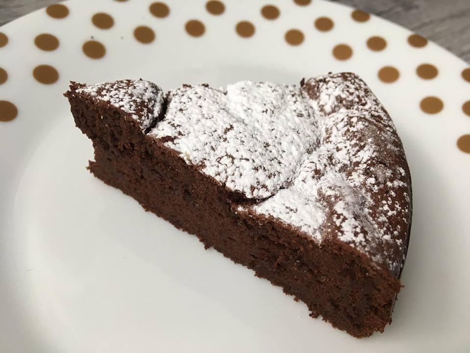 Lavkarbo sjokoladekake. bilde