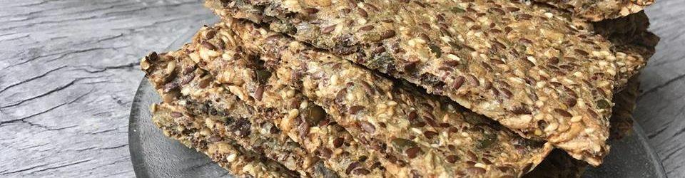 Lavkarbo – Sprø knekkebrød på 1-2-3