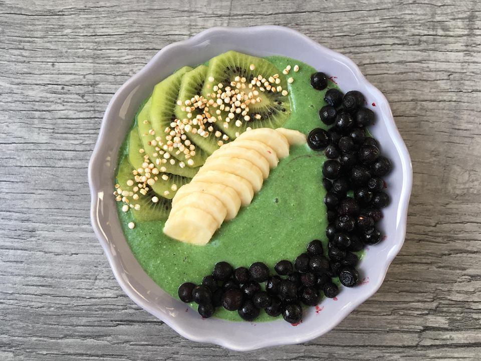 Grønn smoothiebowl – Full av næring!