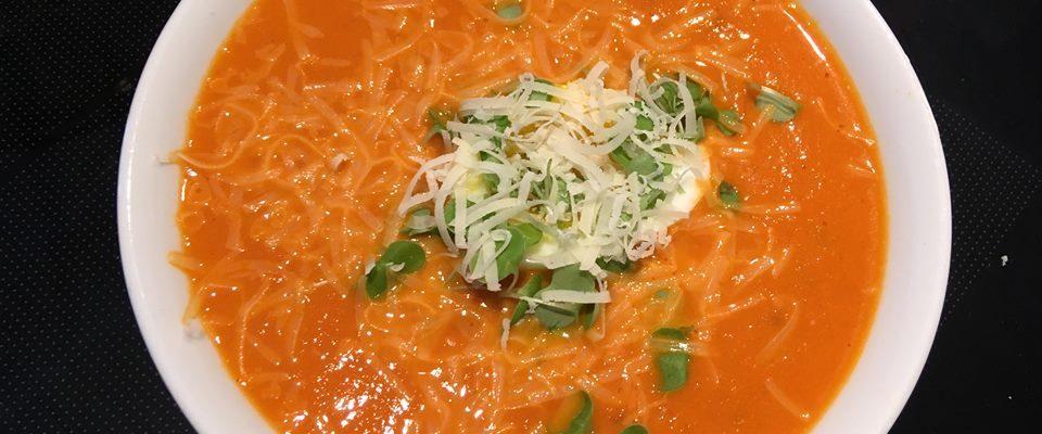 Muskuløs tomatsuppe – Ferdig på 1-2-3