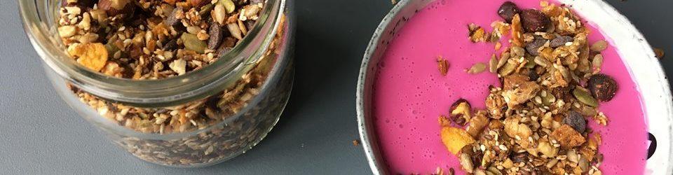 Hvordan sørge for god helse? – og knasende sprø granola