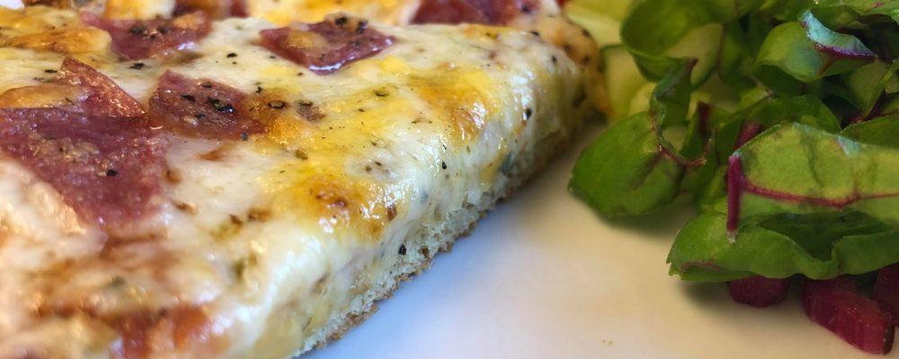 Pizza med luftig bunn